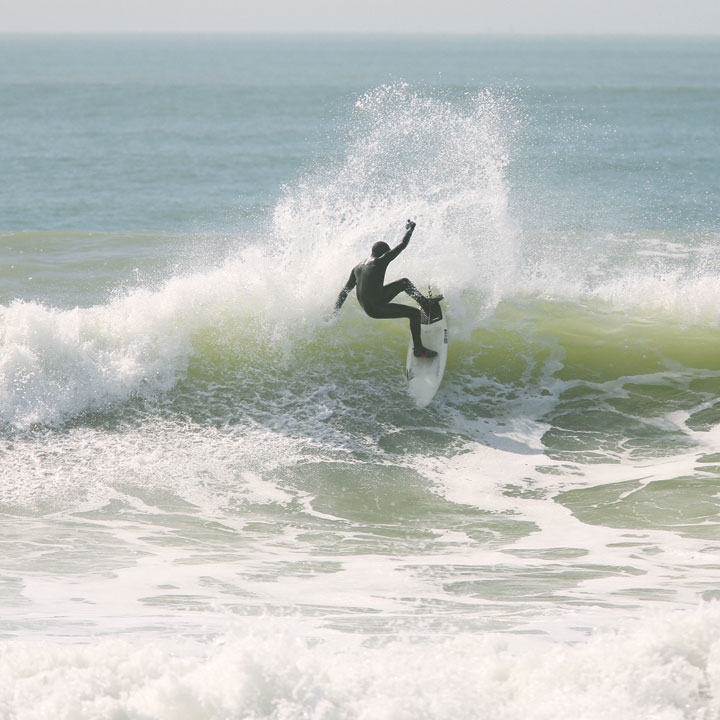 Locals Surfing at East Wittering