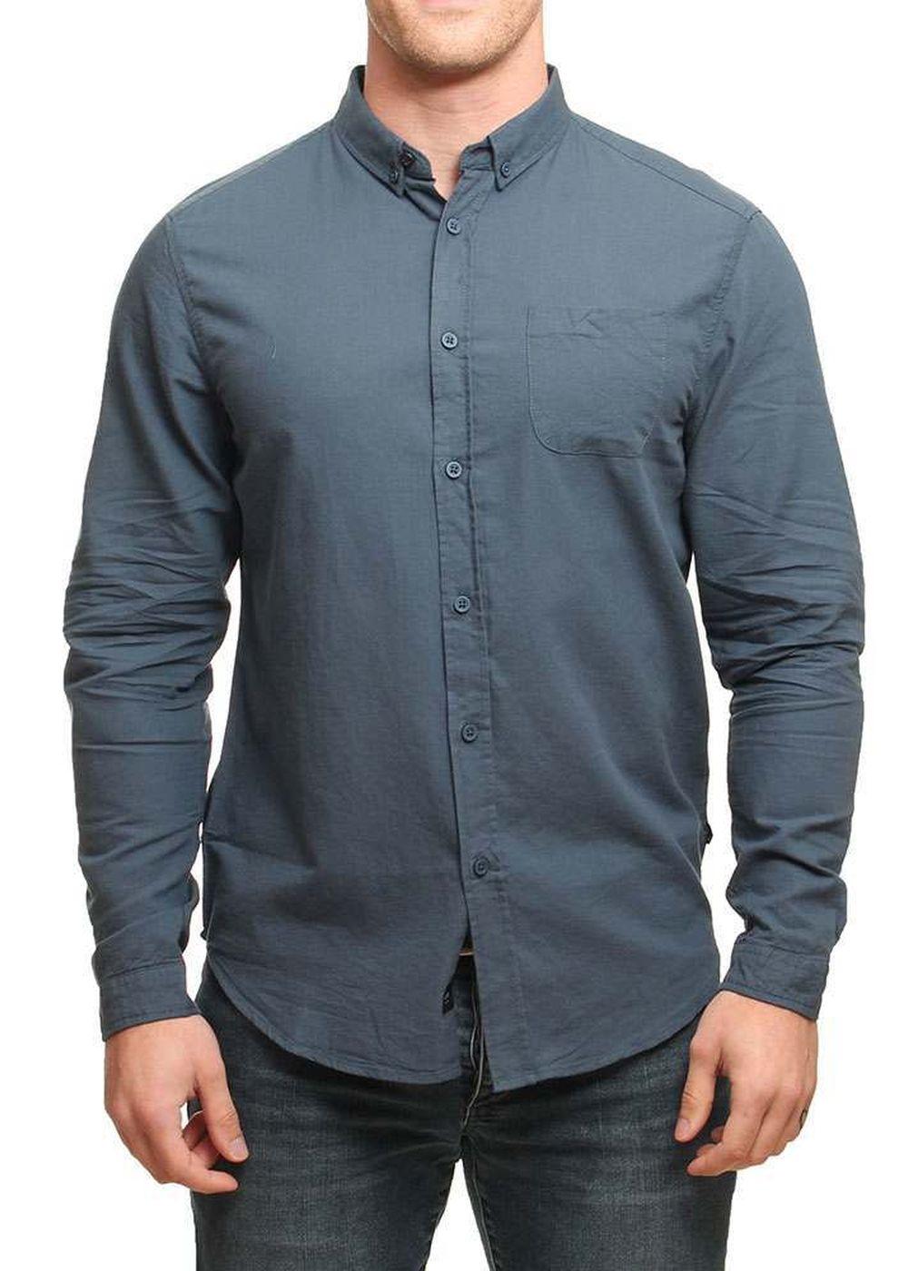 globe-goodstock-oxford-ls-shirt-slate