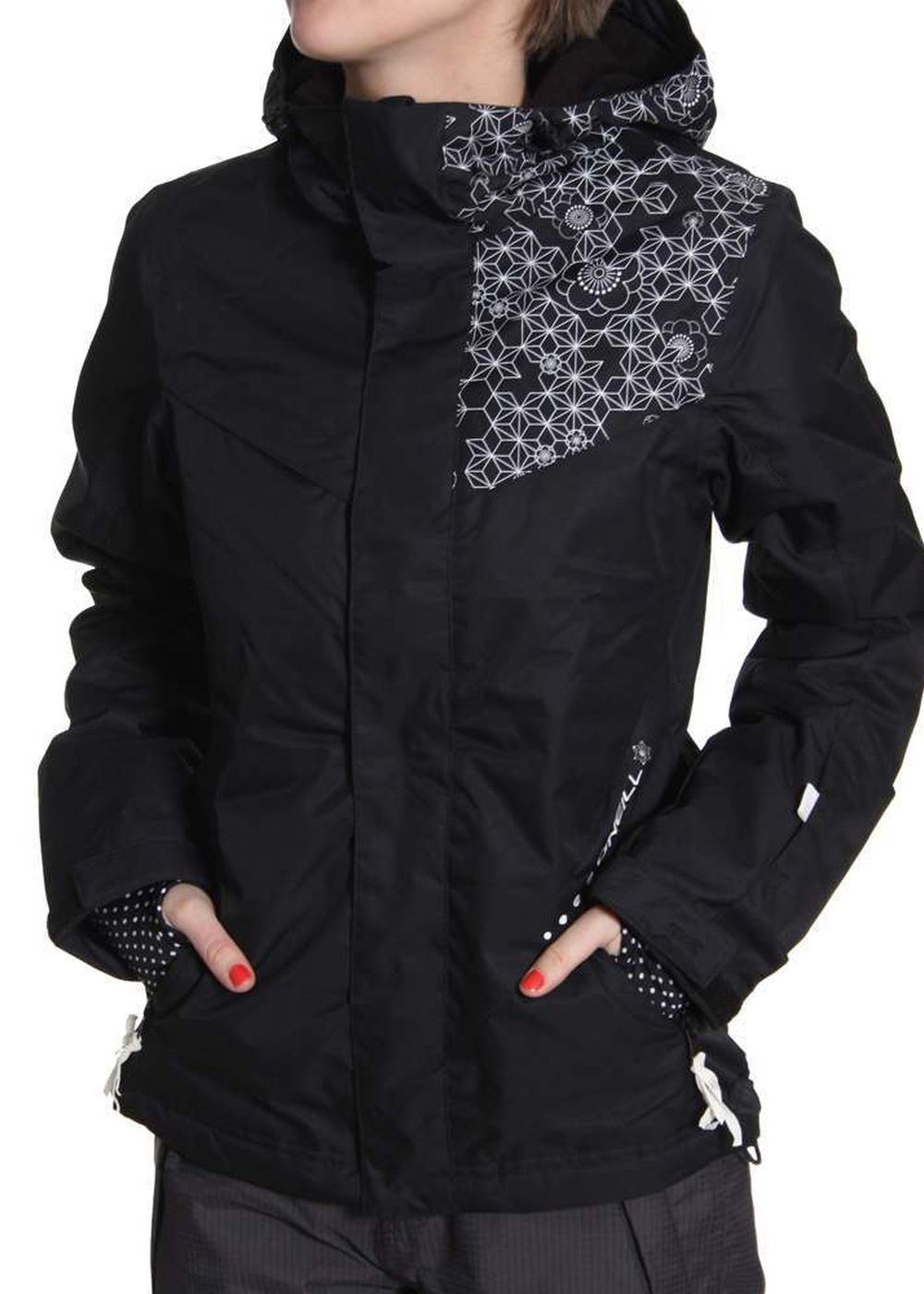 Shore  ONEILL 52 AYAME SNOW JACKET Black Out