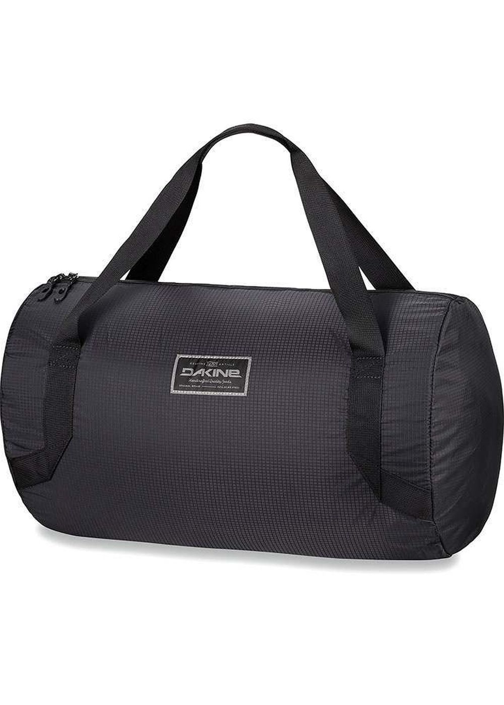 dakine stashable 33l duffle bag black