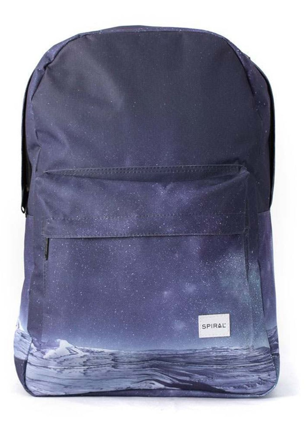 spiral space mountain backpack black/grey