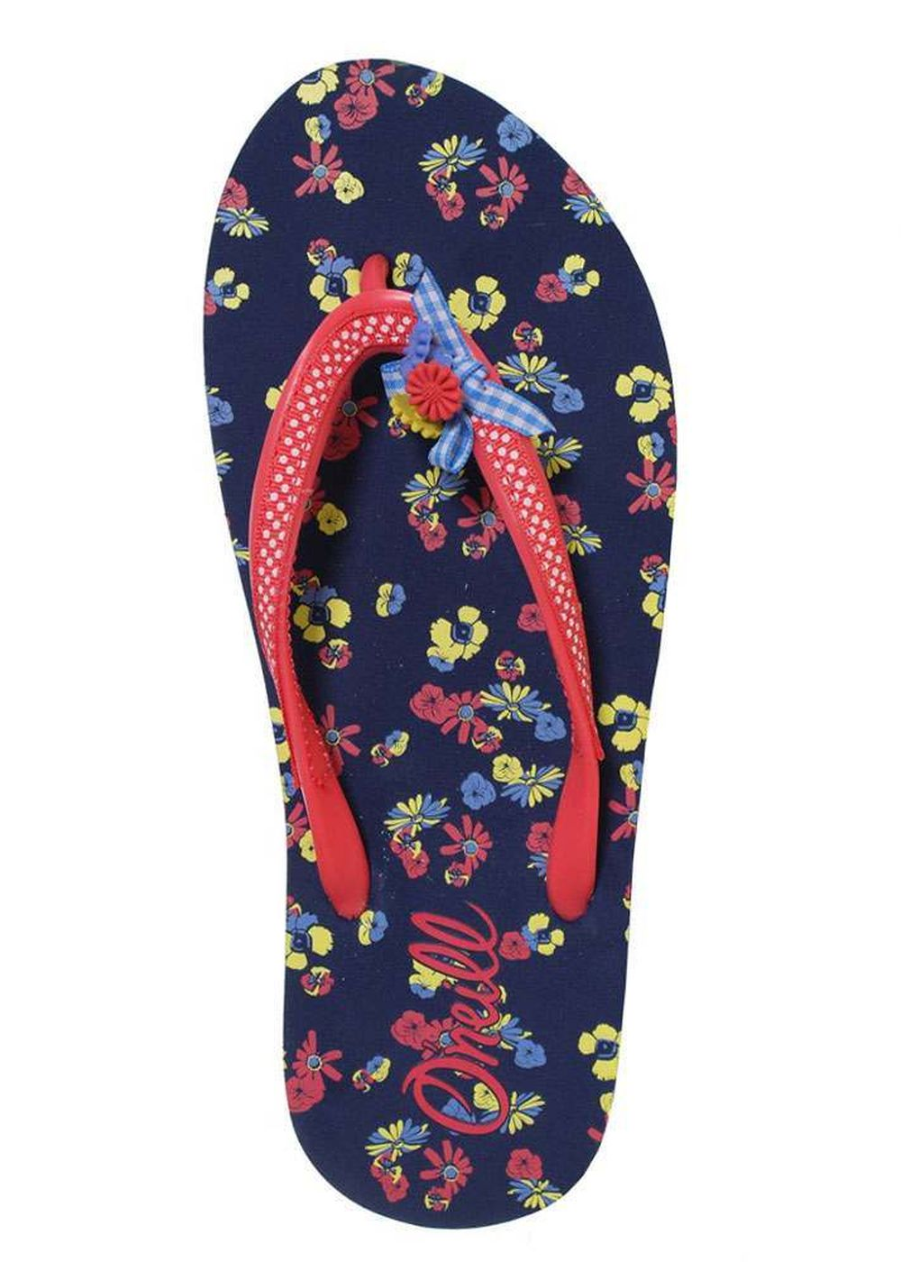 ONEILL GIRLS BELLA SANDALS Blue AOP wYellow