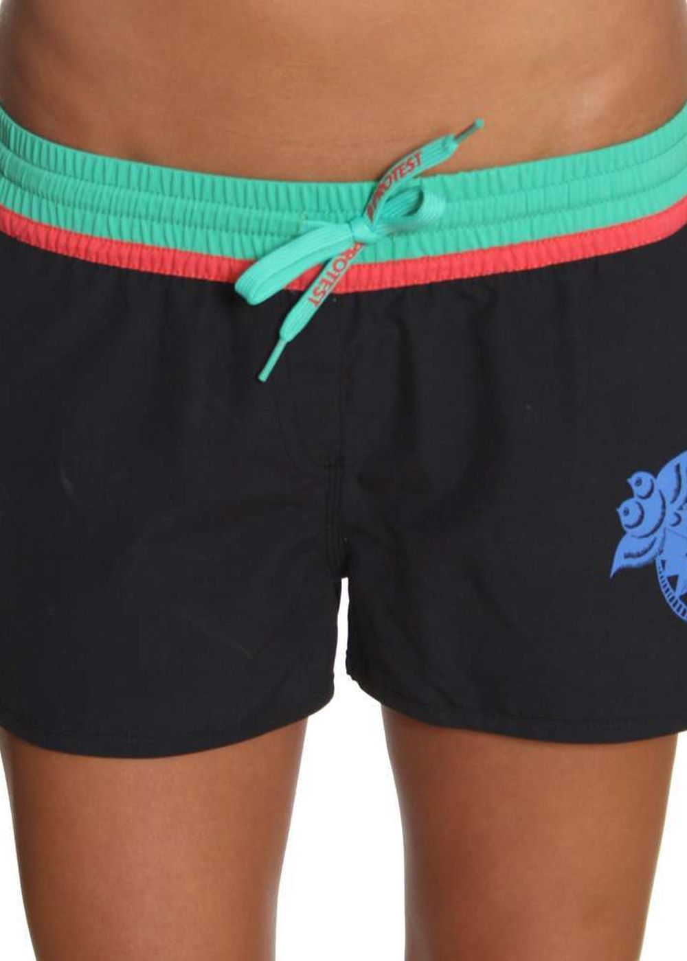 Protest Laida 12 Boardshorts True Black