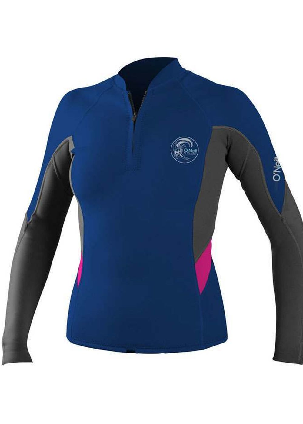 Oneill Womens Bahia Half Zip Wetsuit Jacket Colgr Picture