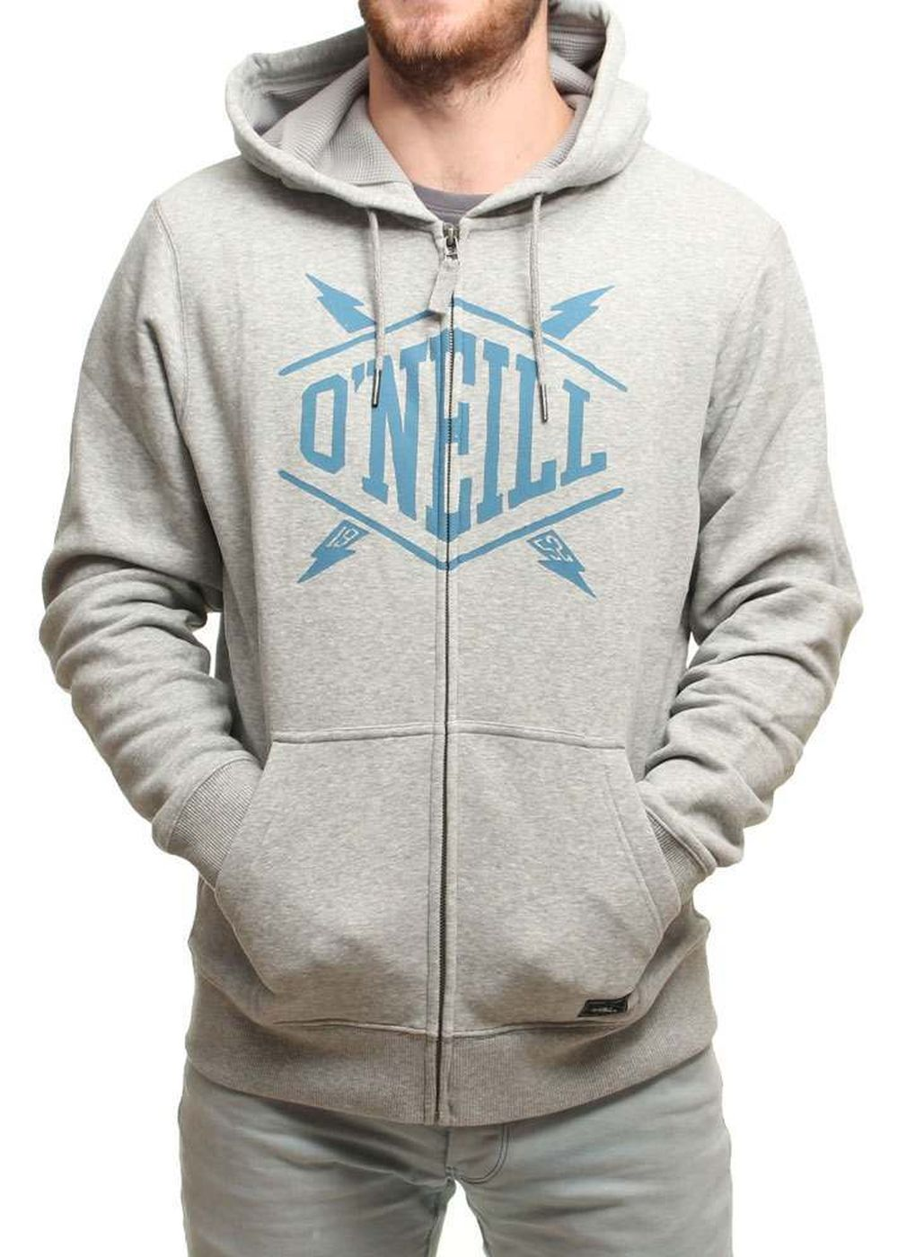 ONEILL CONNECTED EASY HOODY Silver Melee