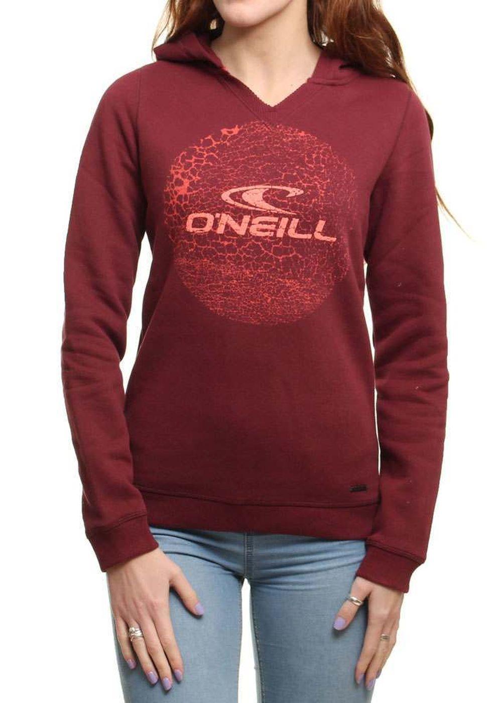 ONEILL CIRCLE LOGO HOODY Truffle Red