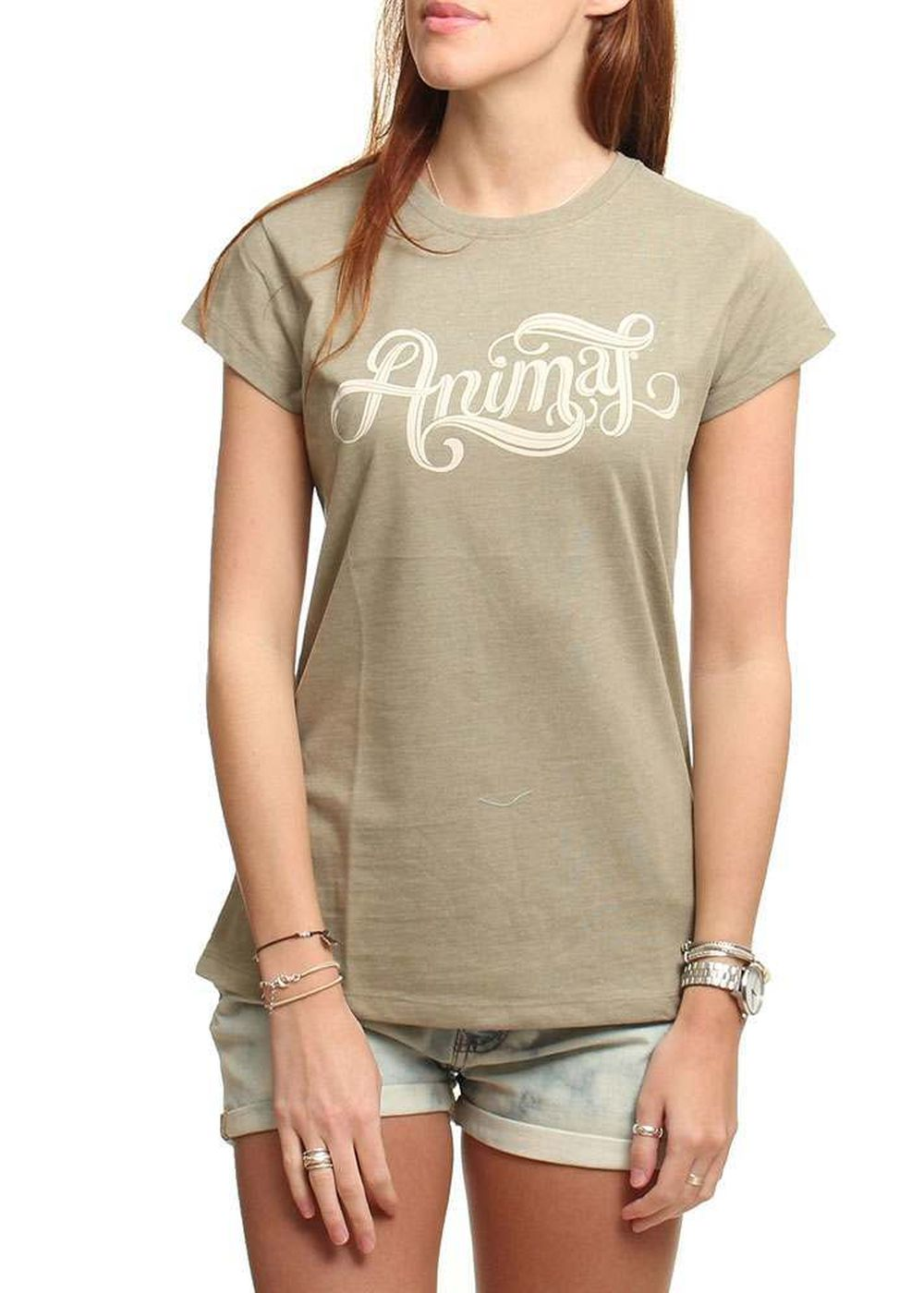 ANIMAL ALEISHA TEE Khaki