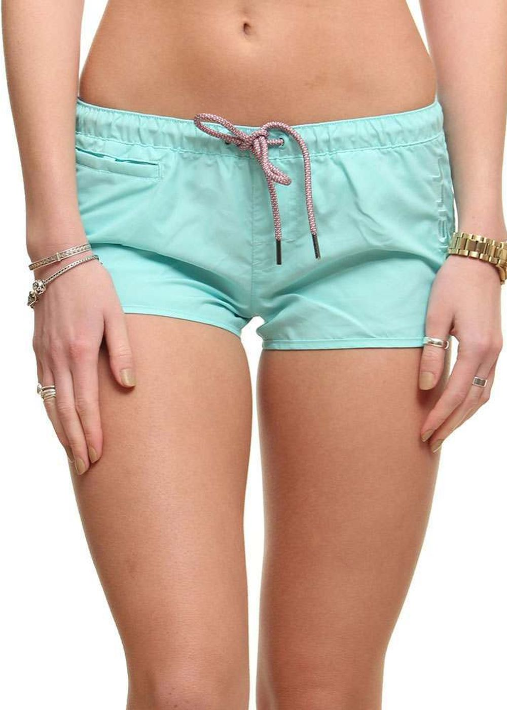 ONEILL CHICA SOLID BOARDSHORTS Clear Water Blue