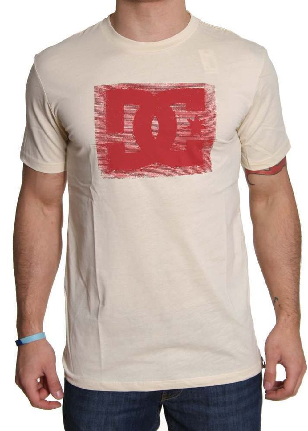 Shore  DC STITCH UP TEE Natural