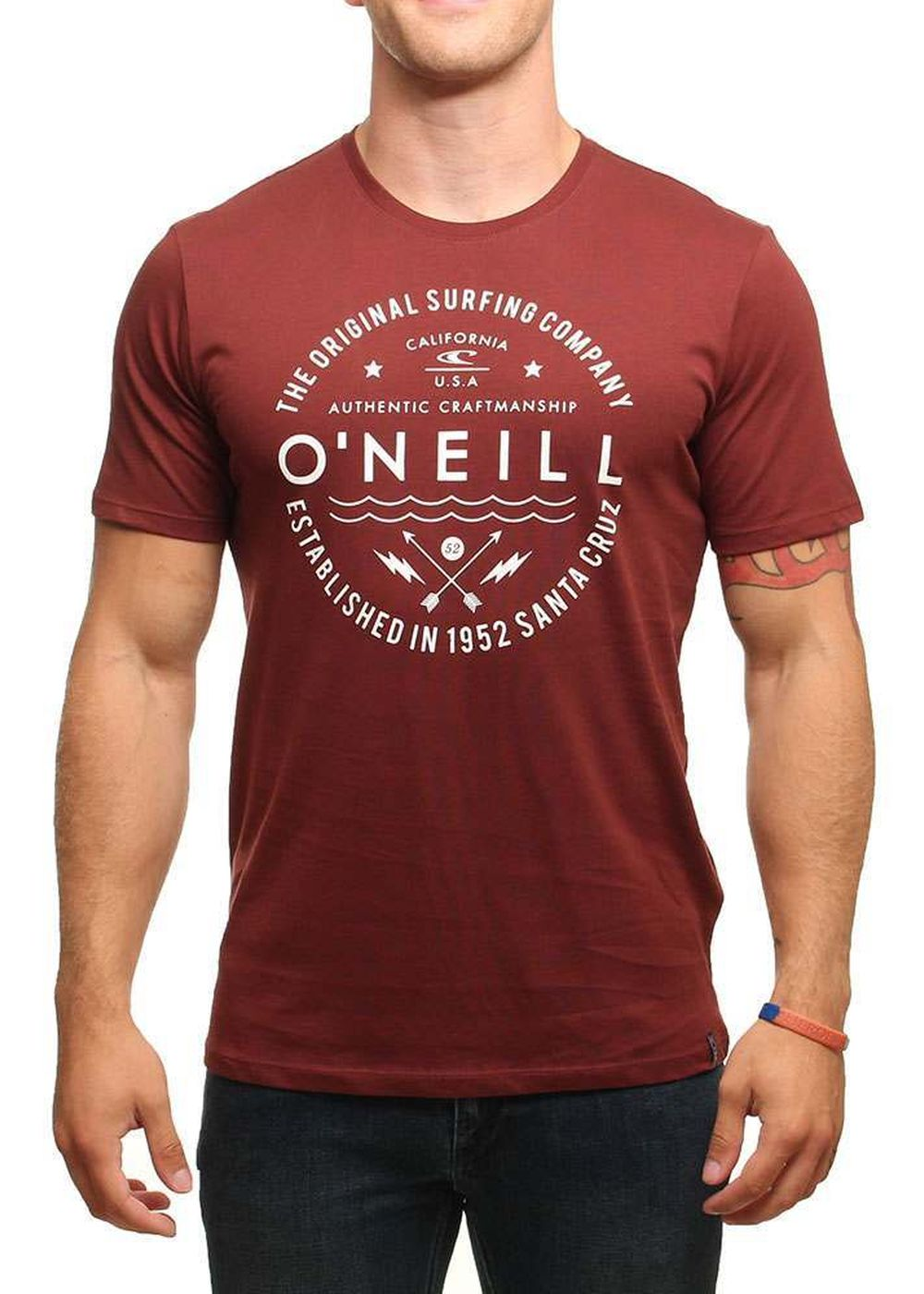 ONEILL CORDON TEE Andorra Red