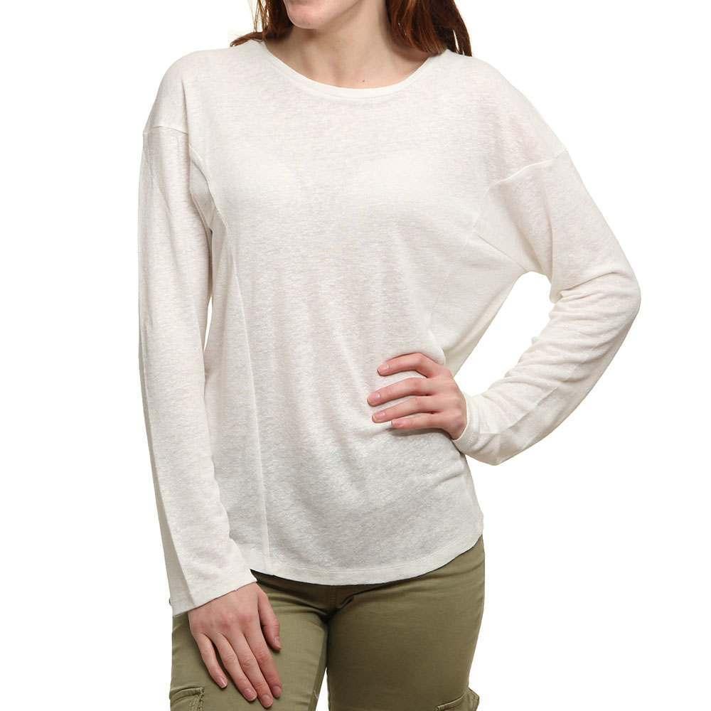 oneill-linen-scooped-hem-top-powder-white