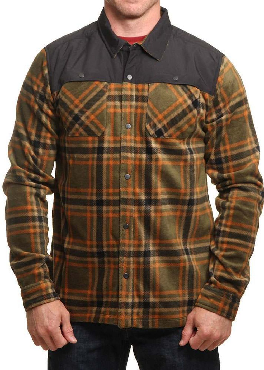 oneill-hybrid-fleece-shirt-green-aop