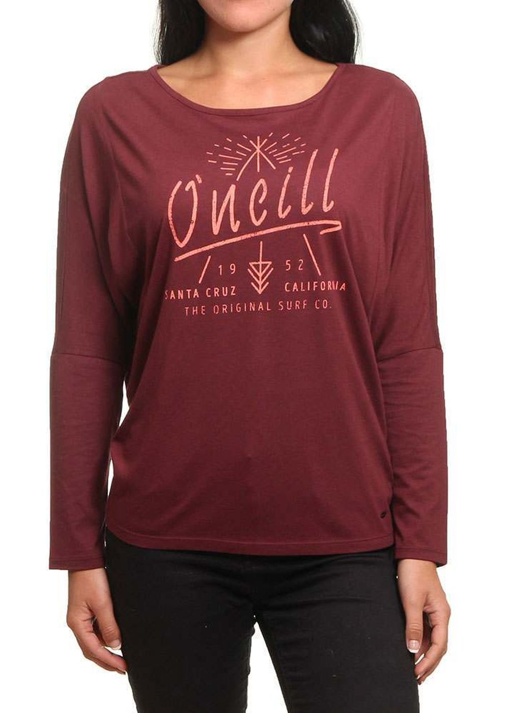 oneill-squaw-valley-long-sleeve-top-current-red