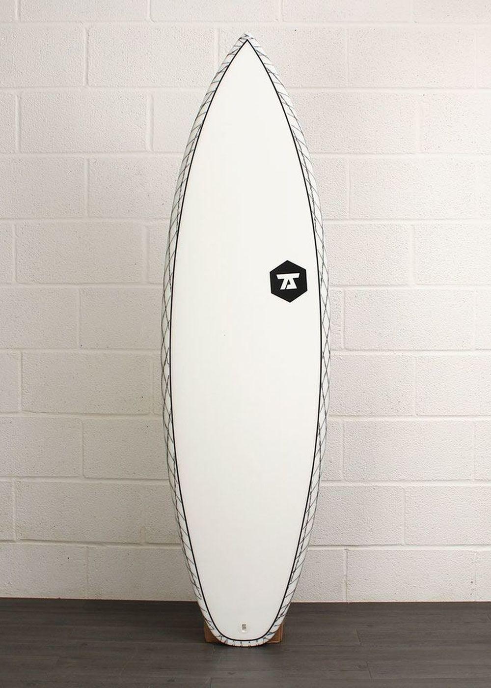 7S SALT SHAKER CV SURFBOARD 6ft 2 Clear