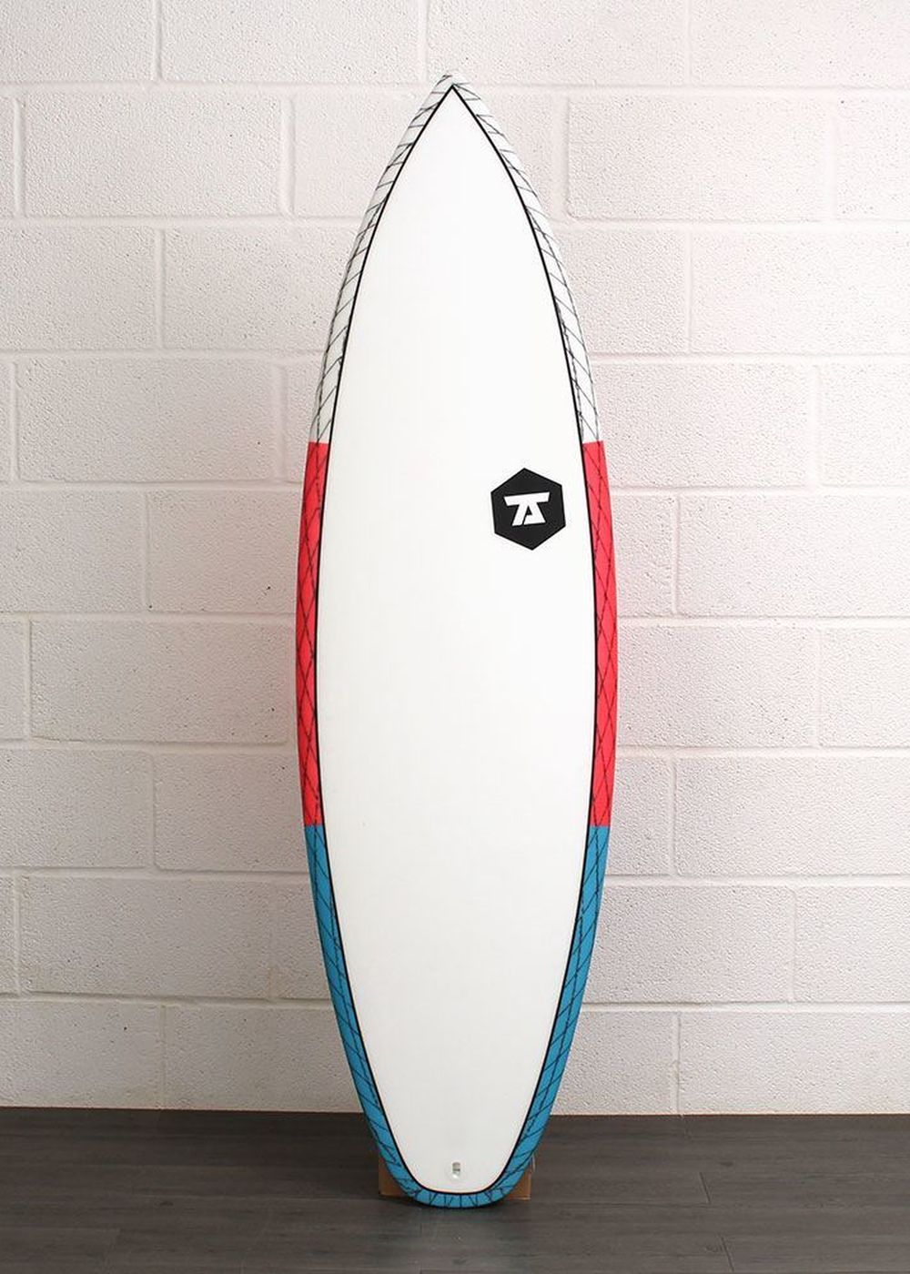 7S SALT SHAKER CV SURFBOARD 5ft 10 Maroon/Blue