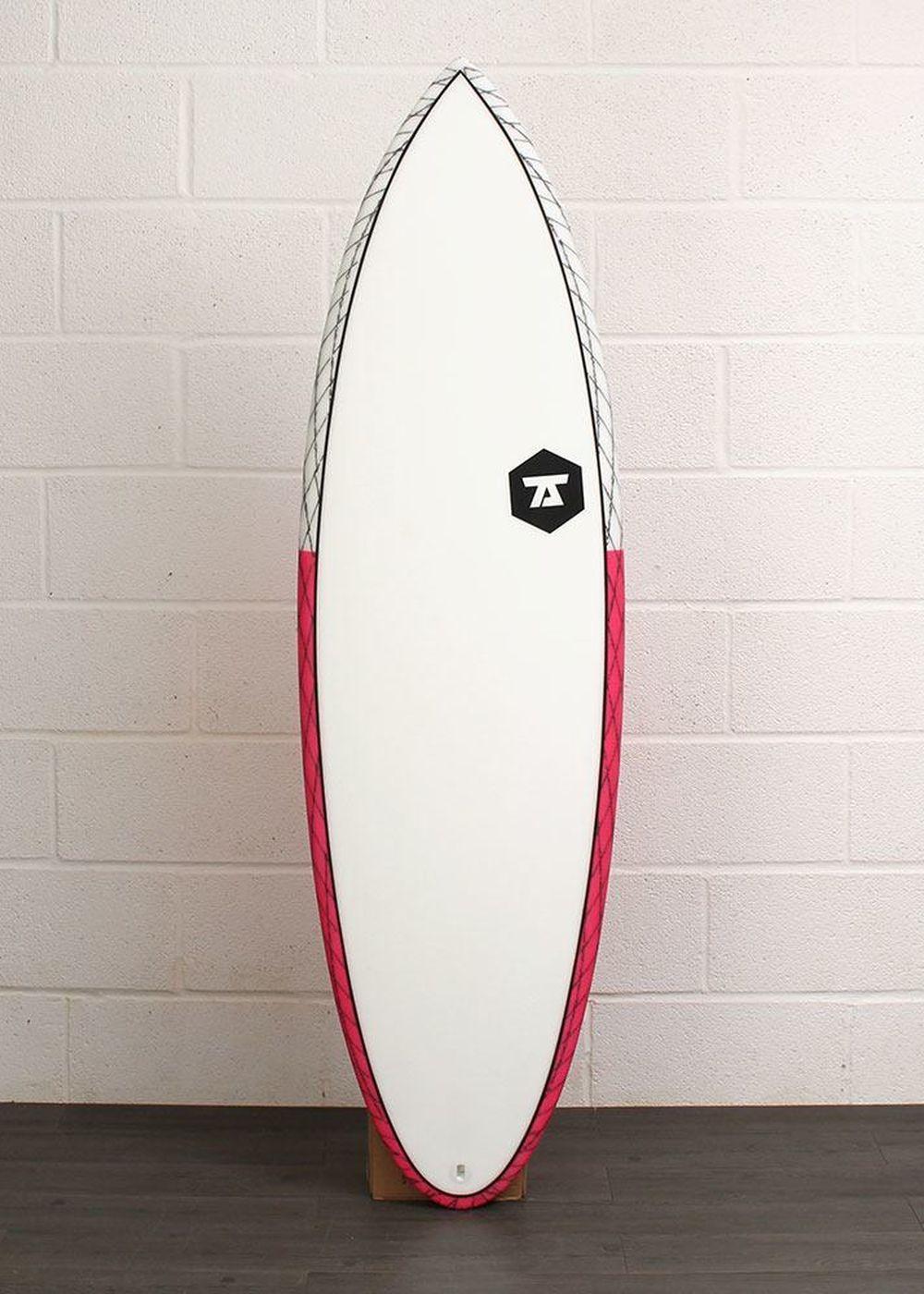 7S SLIPSTREAM CV SURFBOARD 5ft 9 Red