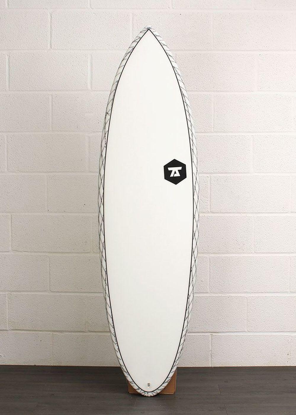 7S SLIPSTREAM CV SURFBOARD 6ft 1 Clear