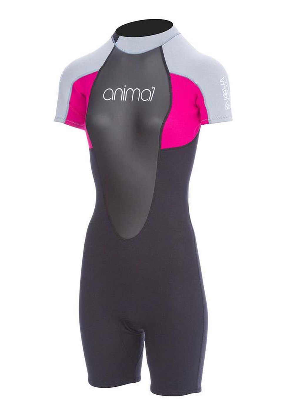 Animal Womens Nova 3/2 Shorty Wetsuit Berry Pink Picture