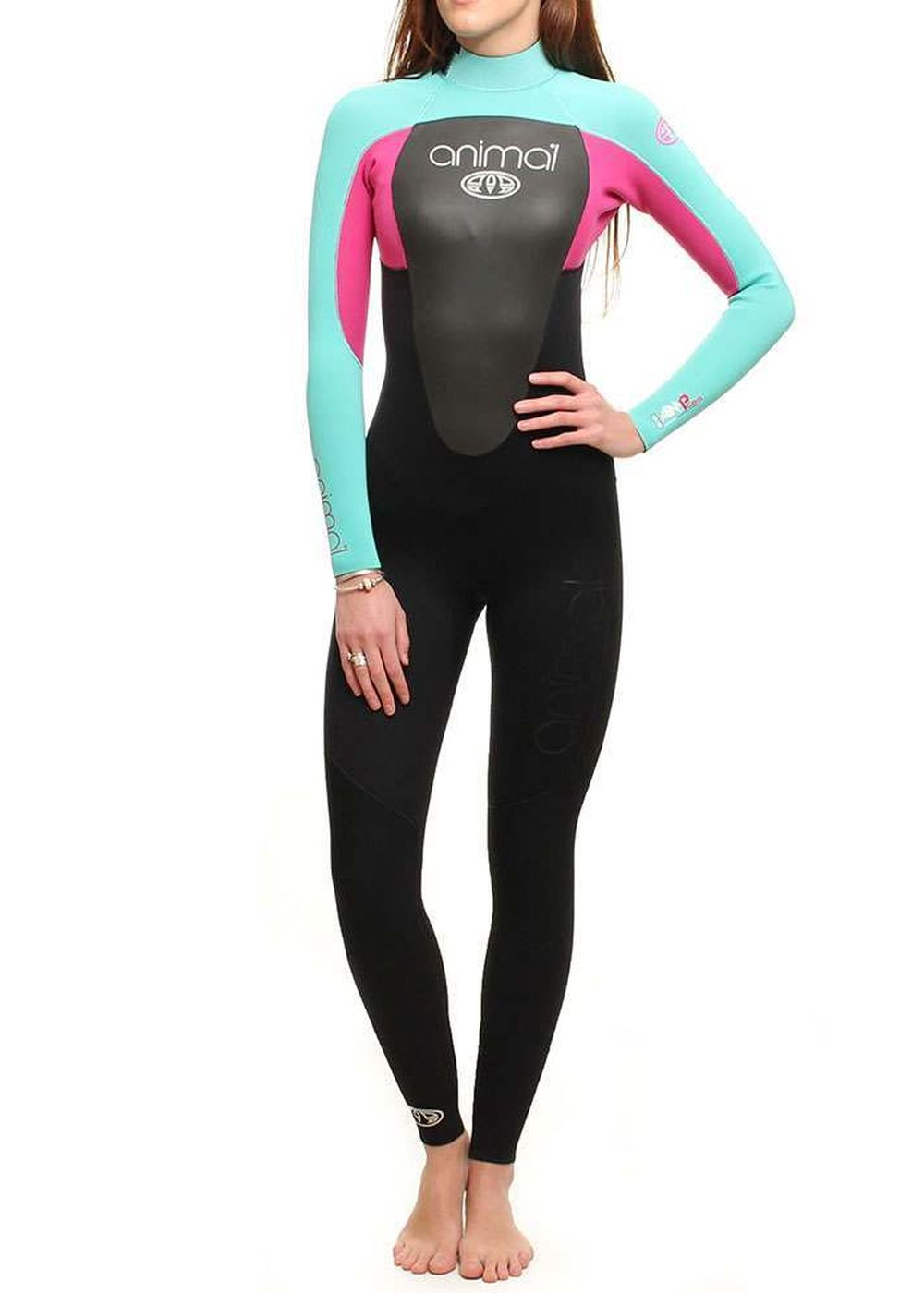 ANIMAL WOMENS AMP 3/2 GBS WETSUIT 2015 Pink