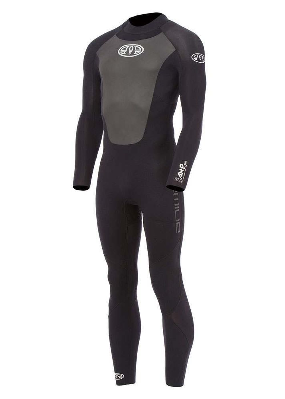 Animal Amp Bz 5/4/3 Gbs Wetsuit 2016 Black Picture