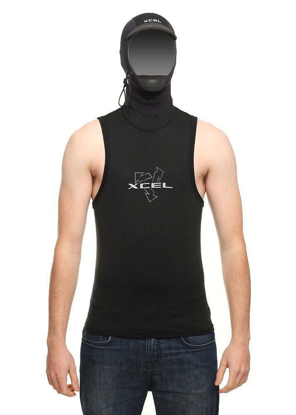 Xcel Hooded Polypro Thermal Vest Rashvest Picture