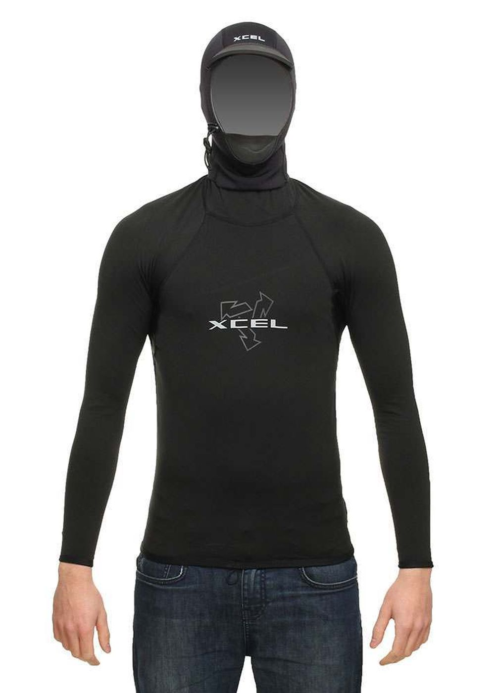 Xcel Hooded Polypro Thermal Long Sleeve Rashvest Picture