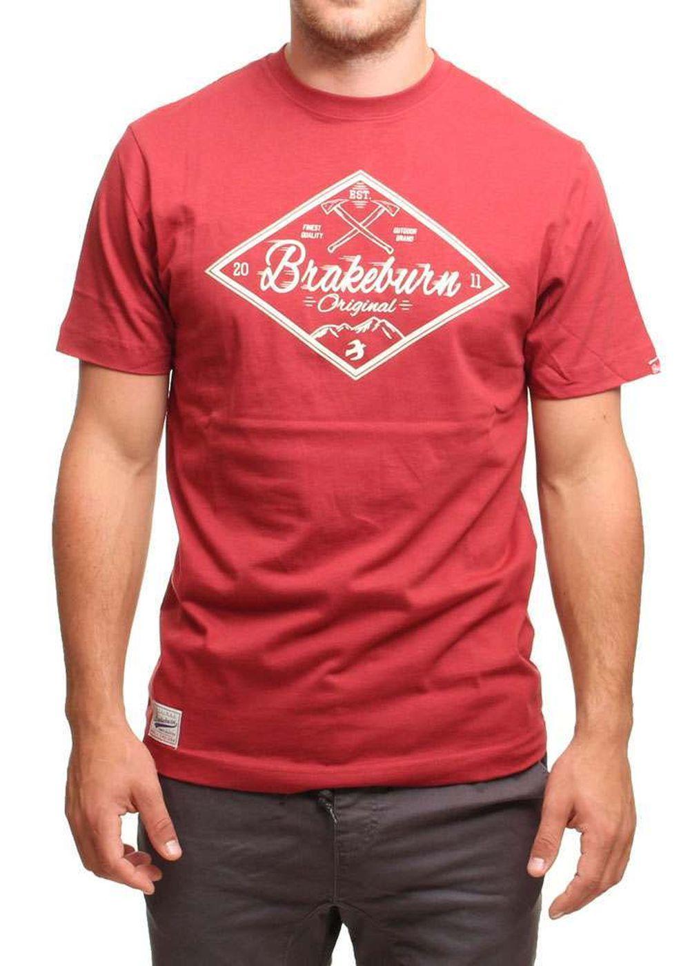 brakeburn-diamond-tee-red
