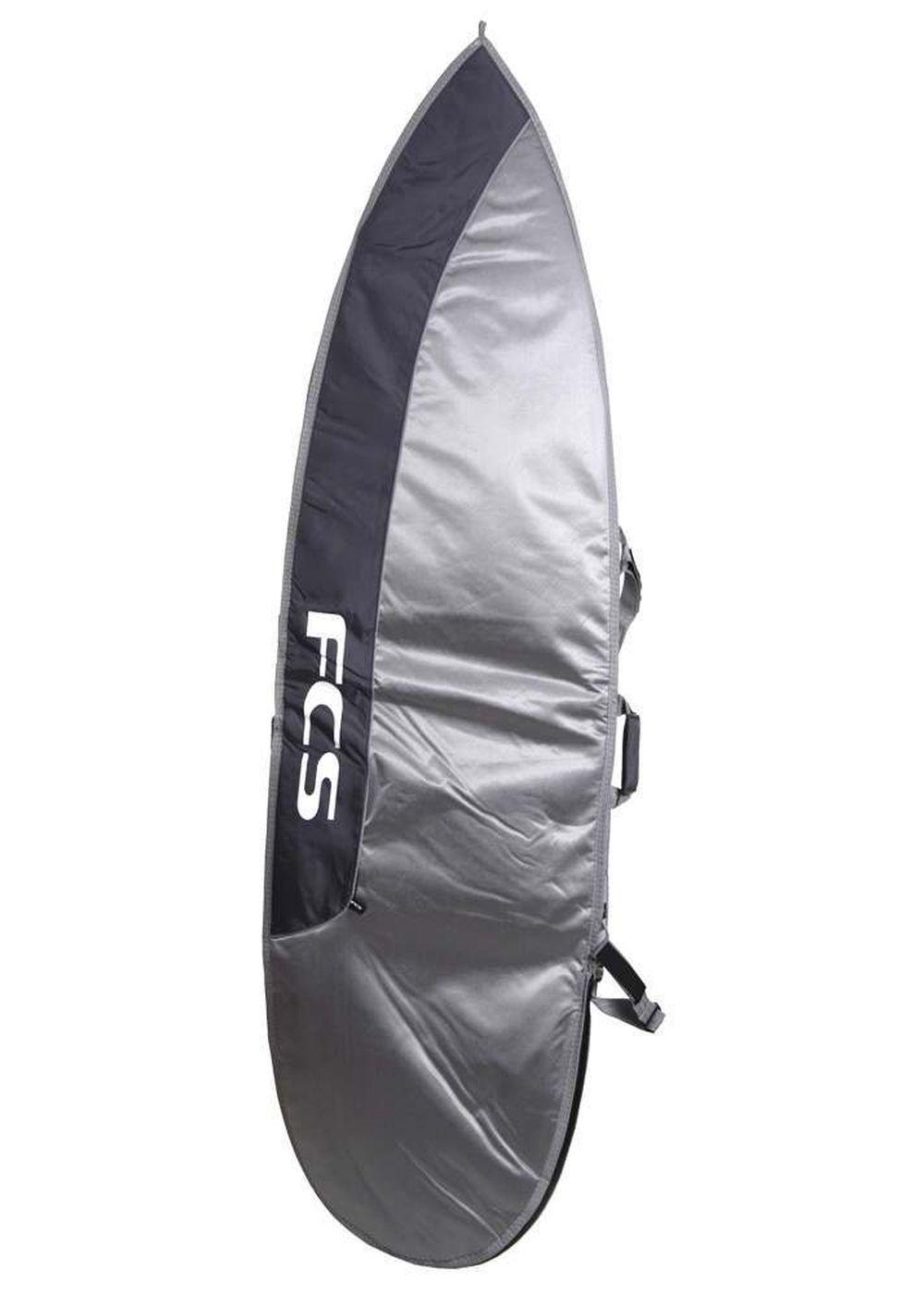 FCS DAYRUNNER SHORT BOARD BAG Silver/DarkGrey 6F7