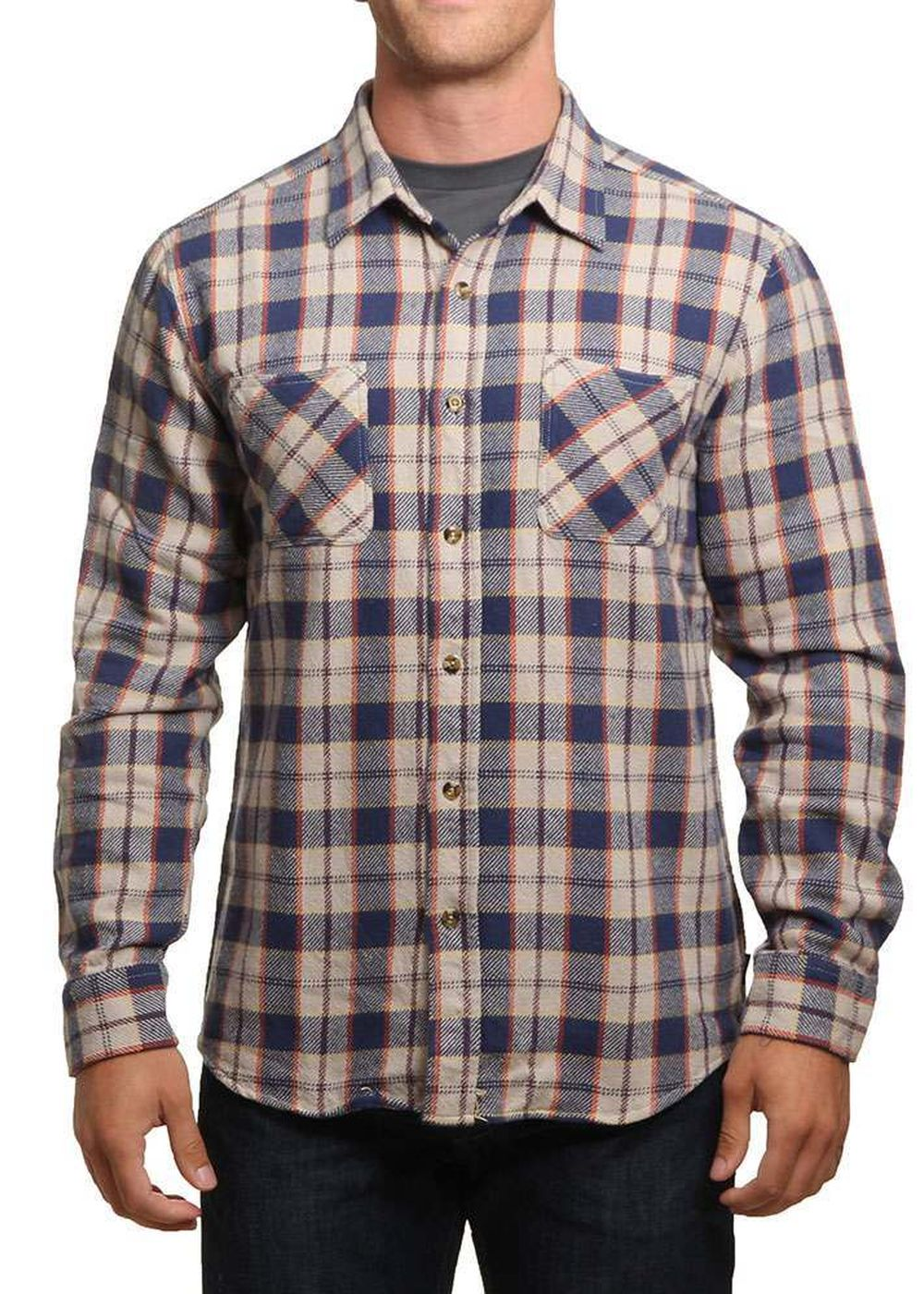 brixton-hoffman-flannel-shirt-bluegrey