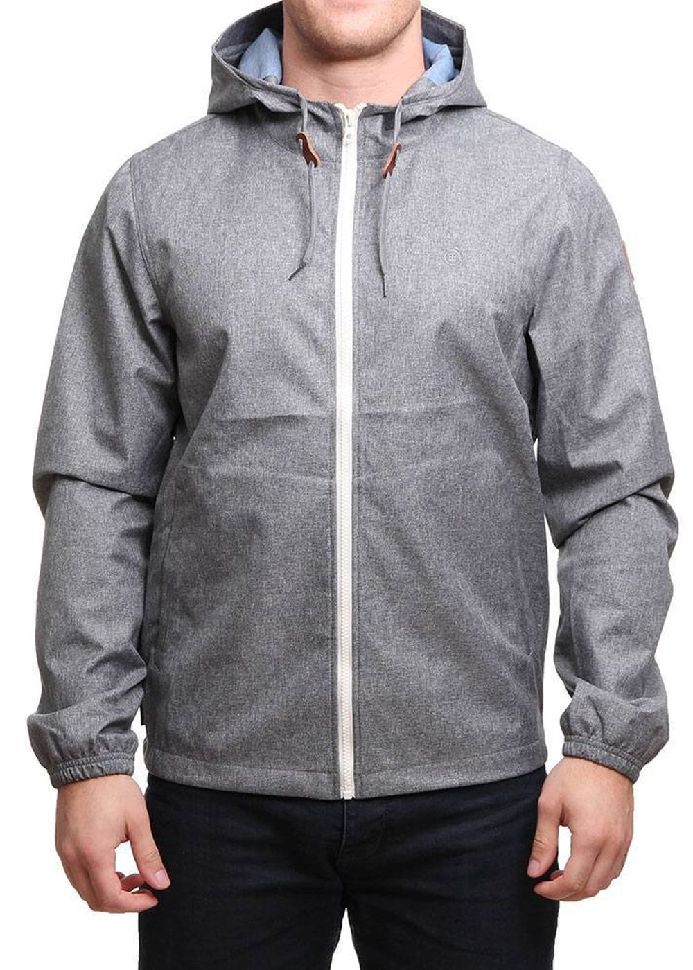 element alder jacket grey heather