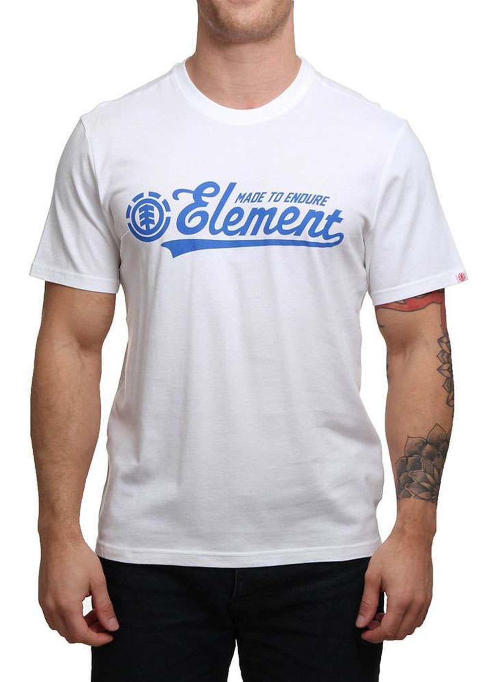 element-signature-tee-optic-white