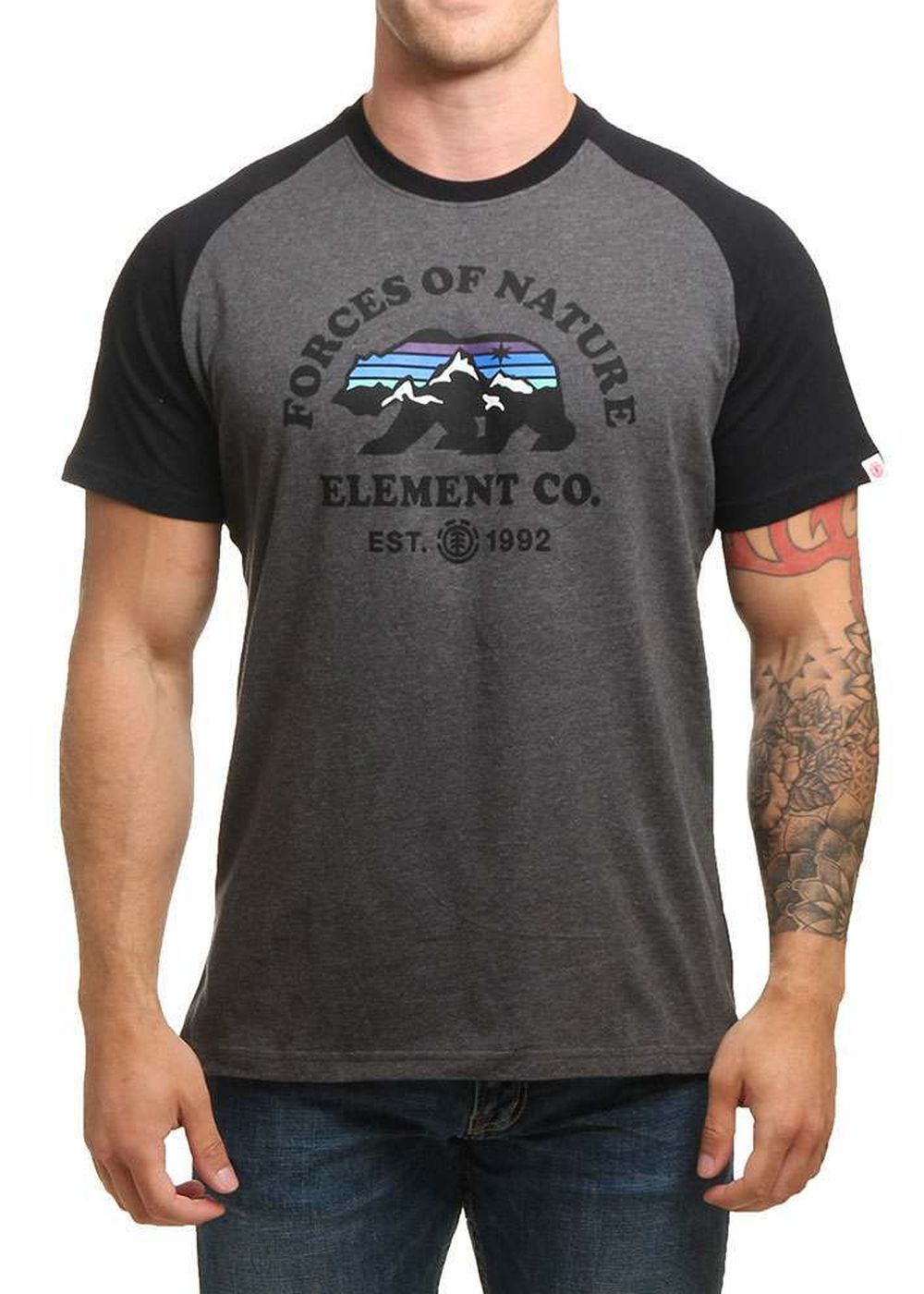 element-vista-raglan-tee-charcoal-heather