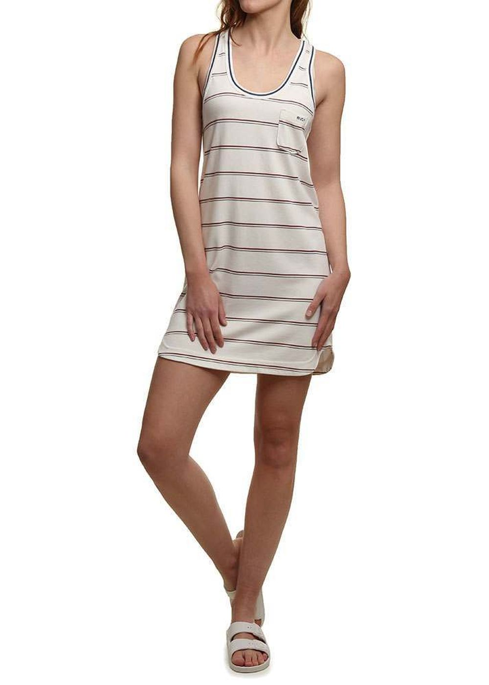 rvca-deviate-dress-white