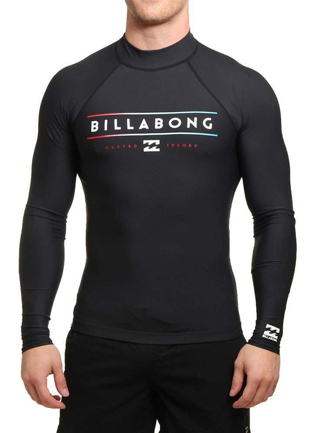 Billabong Unity Long Sleeve Rash Vest Black Picture