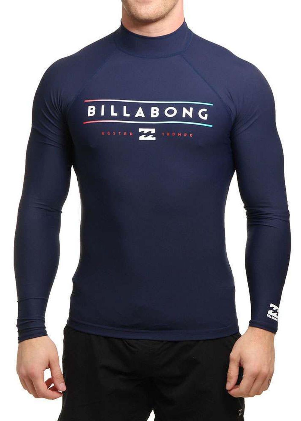 Billabong Unity Long Sleeve Rash Vest Navy Picture