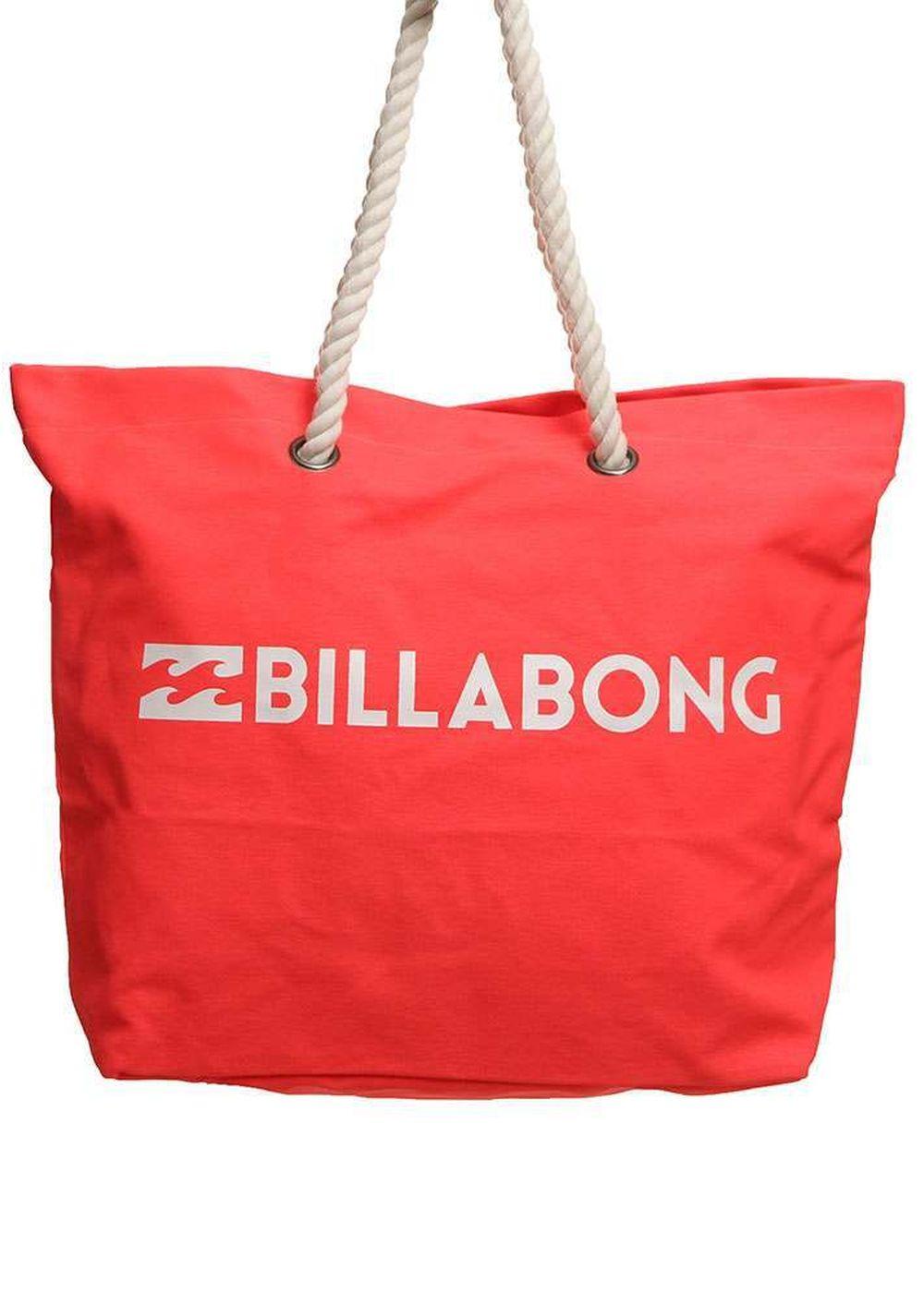 billabong essential beach bag horizon red