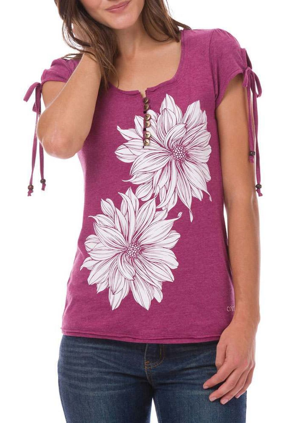 ANIMAL AMBERLYNN TEE Berry