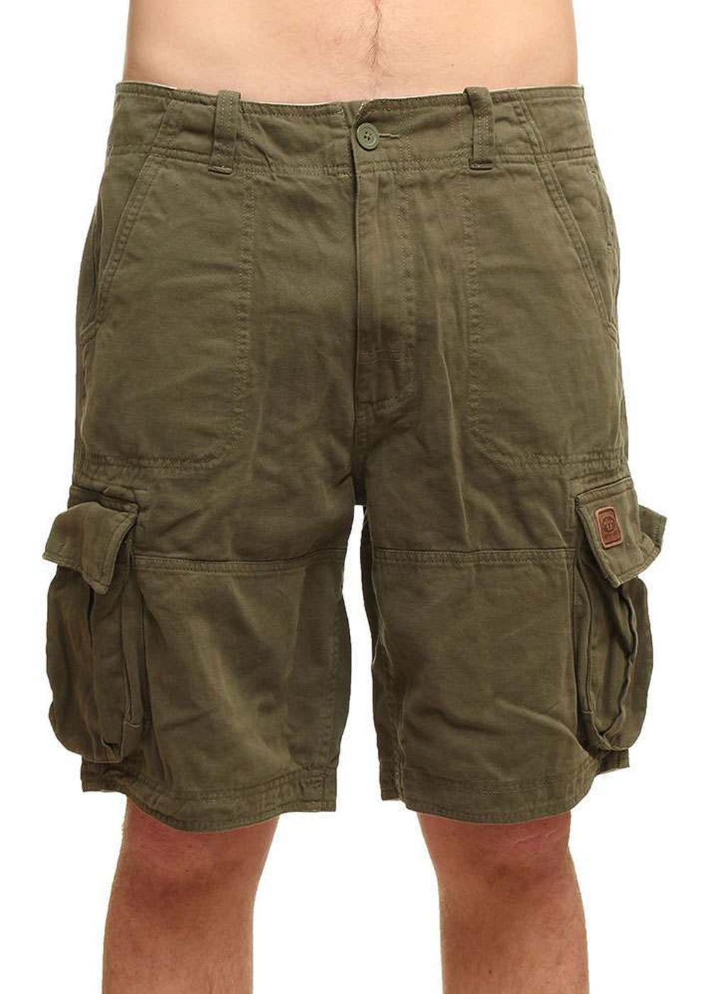 ANIMAL AGOURAS CARGO SHORTS Olive