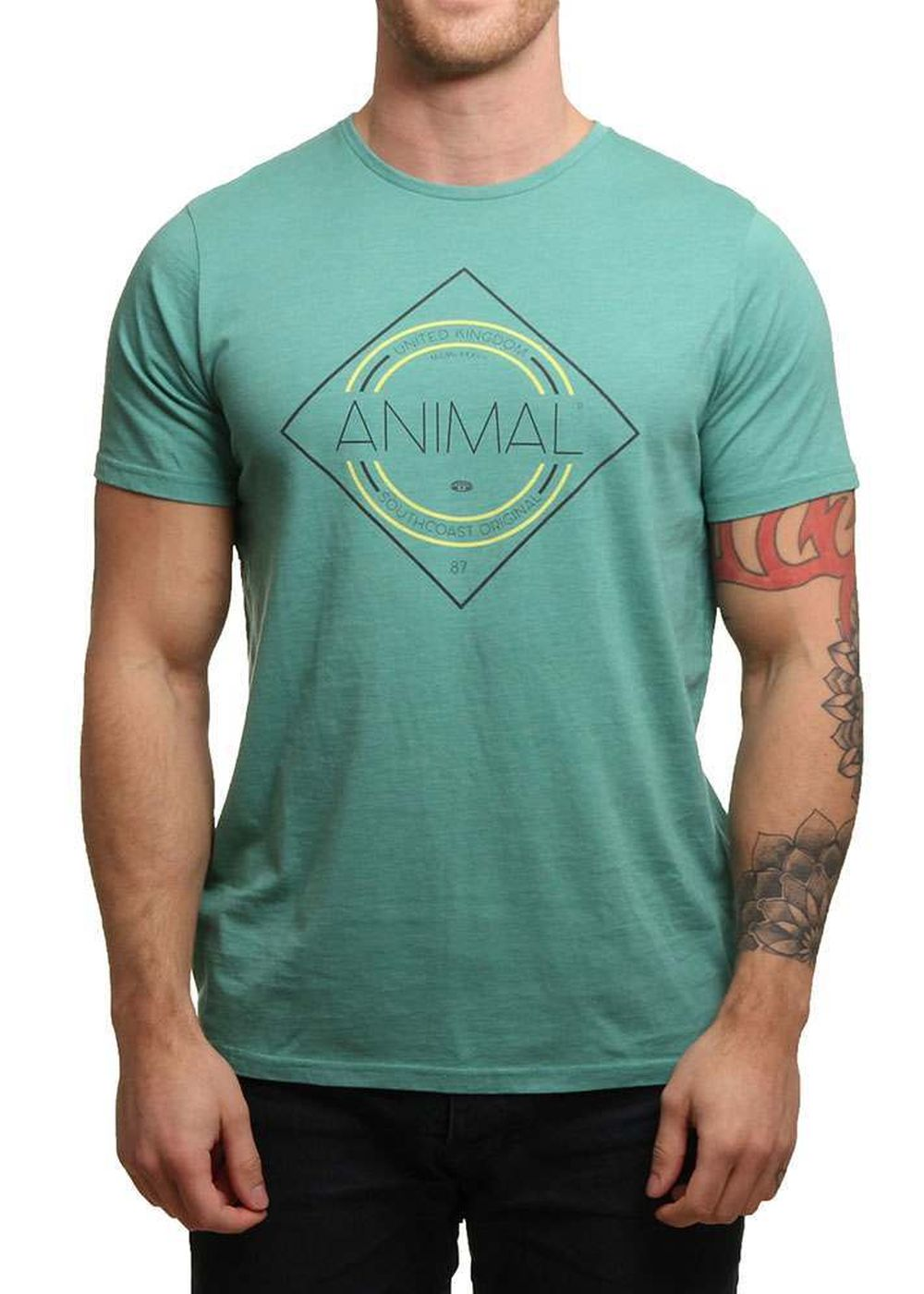 animal-analogue-tee-beryl-green-marl