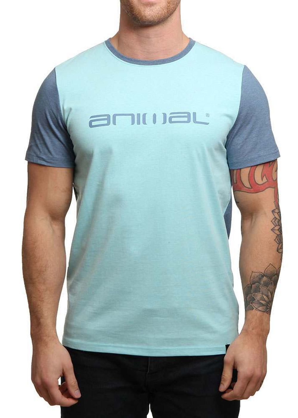 animal-base-tee-cadet-navy-marl