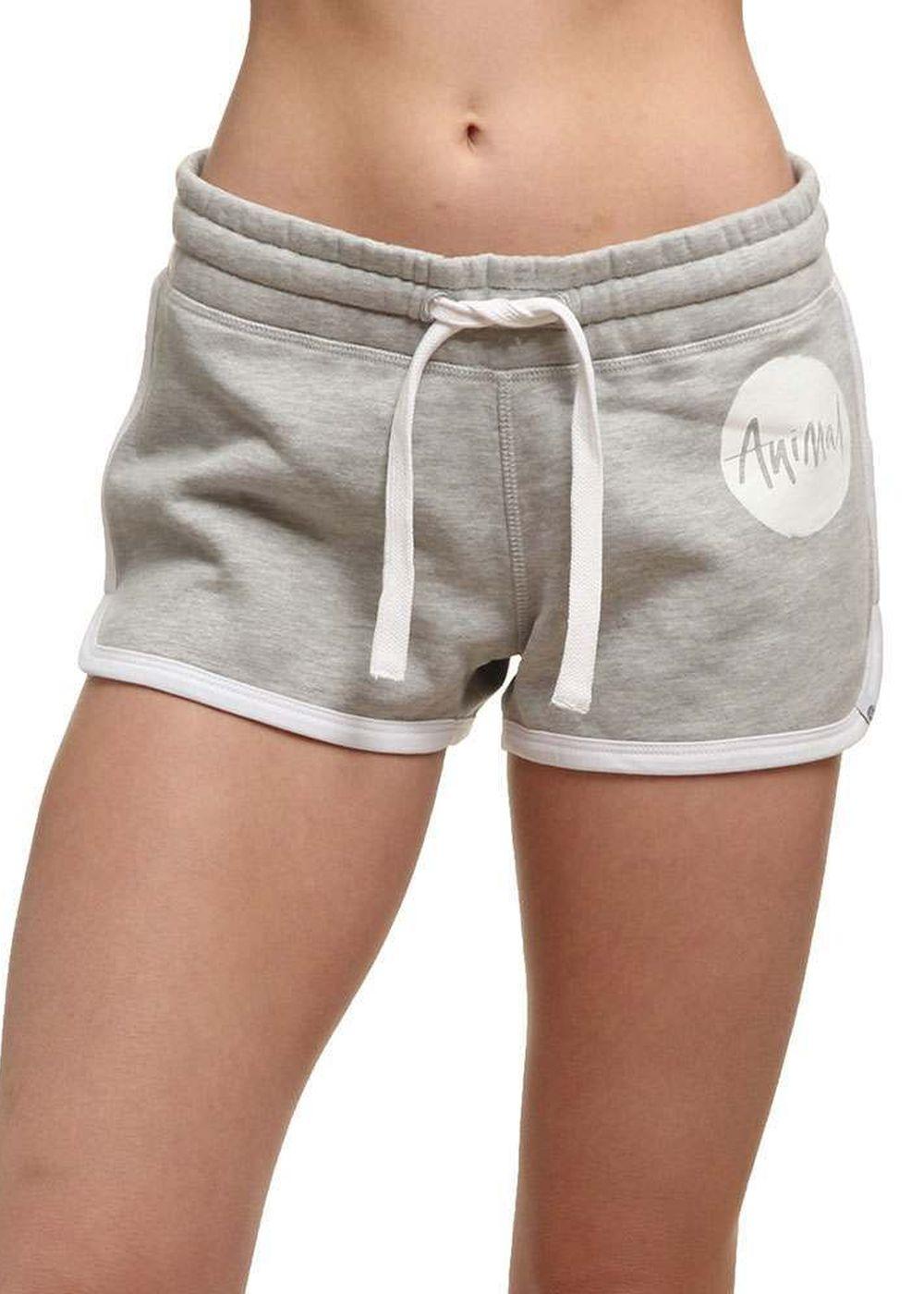 animal-gerri-track-shorts-grey-marl