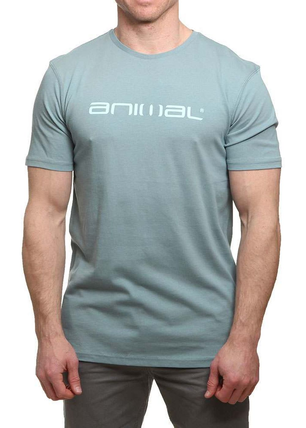 Animal Classico Tee Smoke Blue