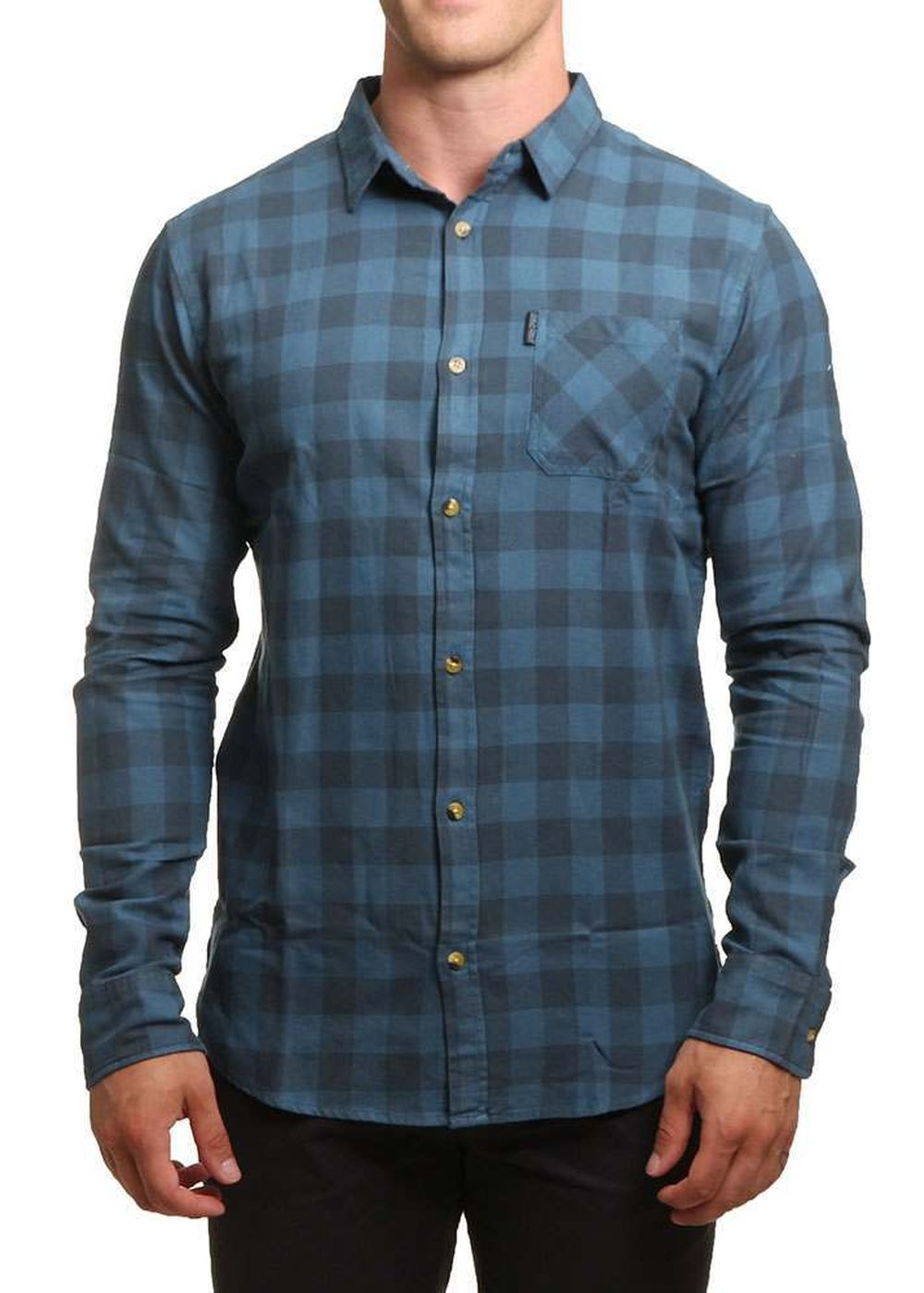 ripcurl-check-shirt-indian-teal