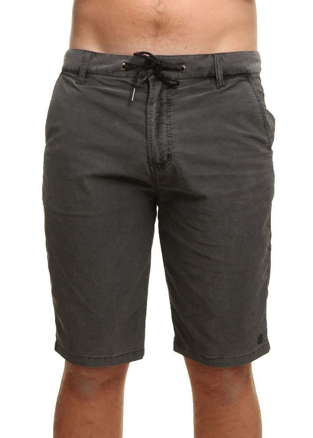 element-howland-shorts-flint-black