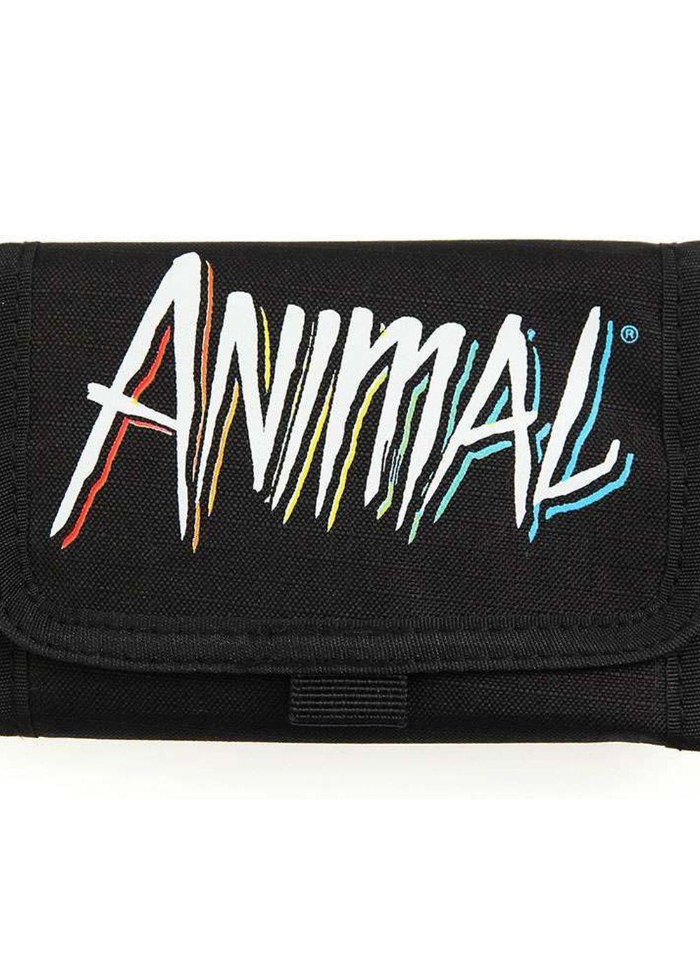 animal tazu wallet black