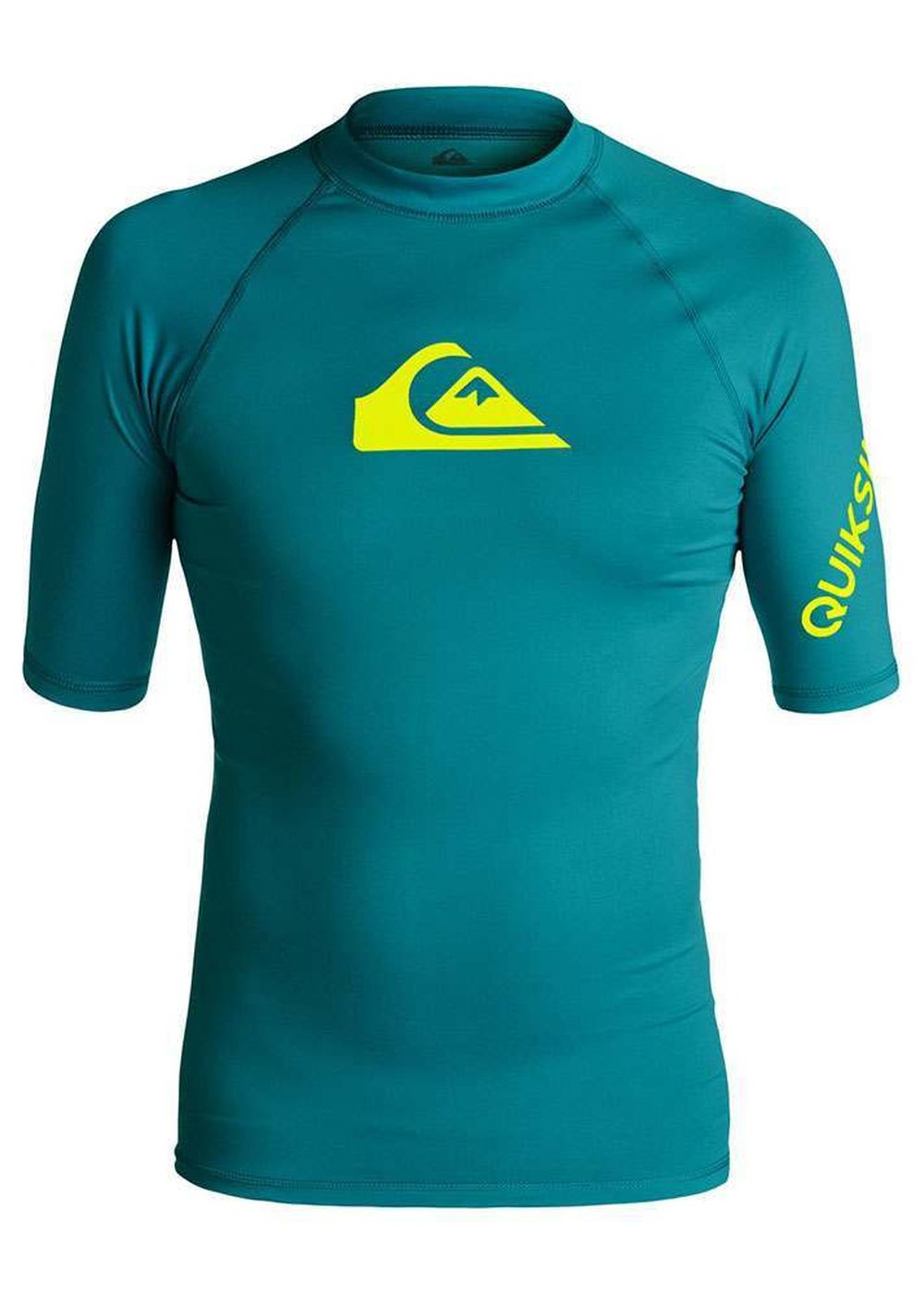 Quiksilver All Time Short Sleeve Rash Vest Morocco Picture