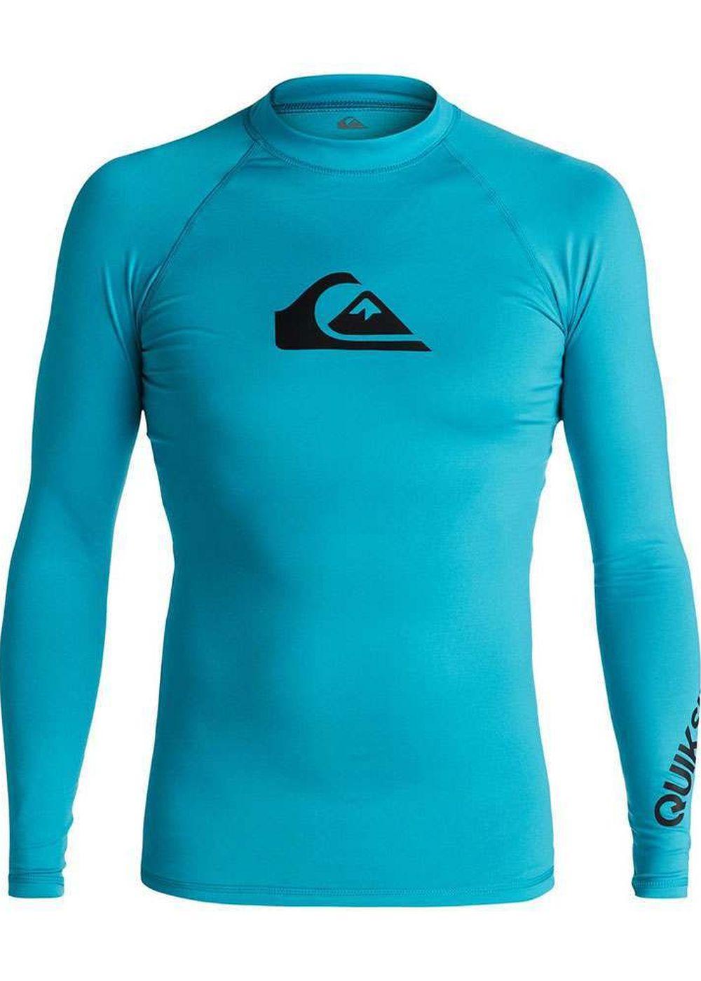 Quiksilver All Time Long Sleeve Rash Vest Blue Picture