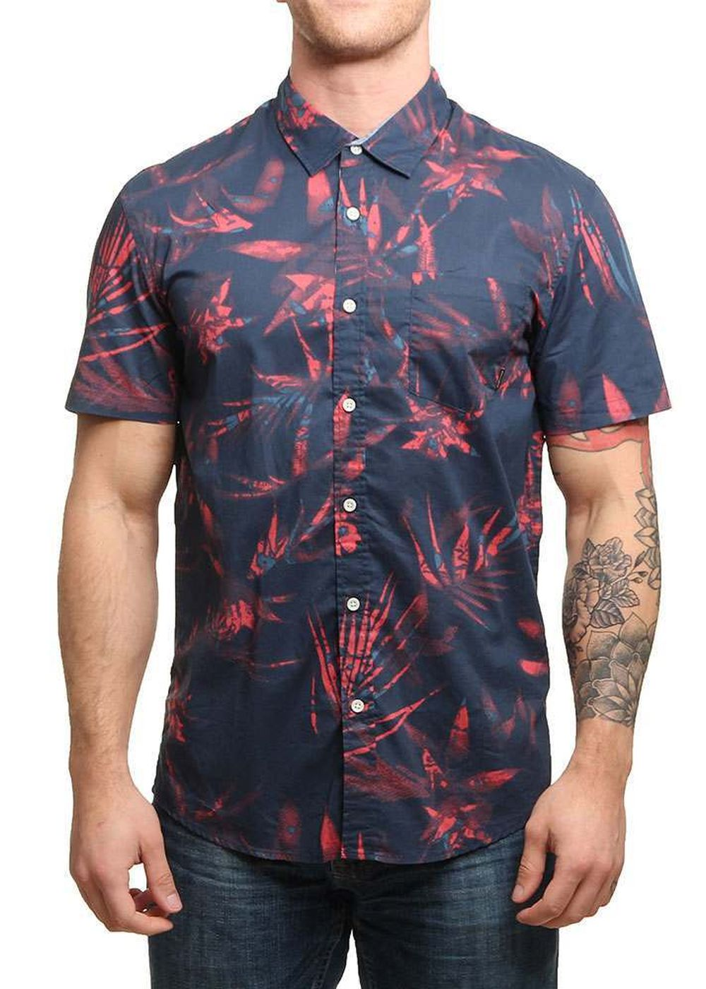 quiksilver-everyday-print-ss-shirt-navy-blazer
