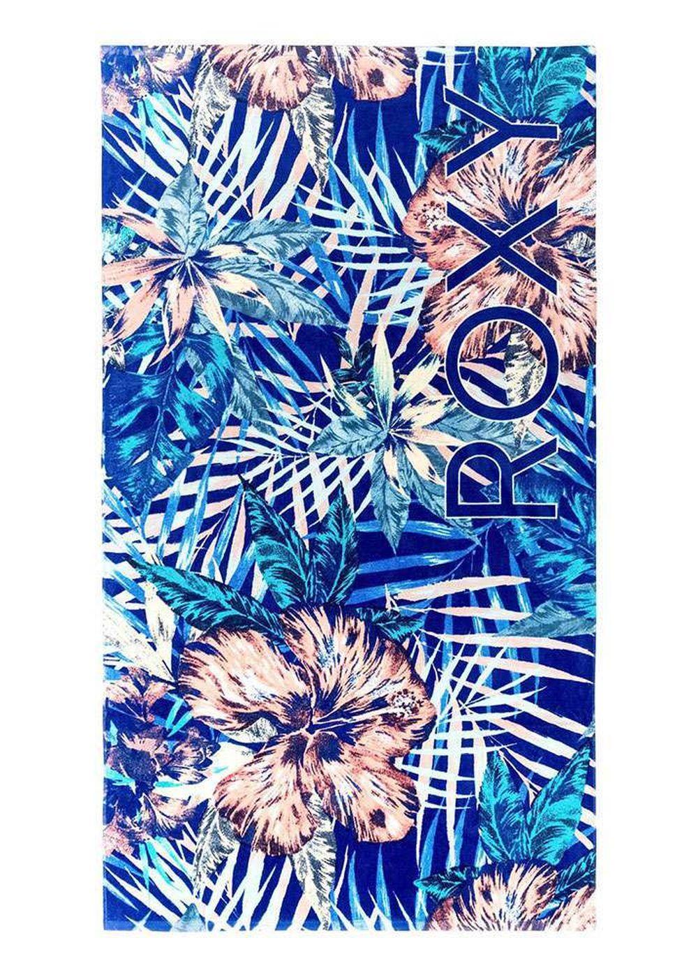 Roxy Hazy Beach Towel Royal Blue