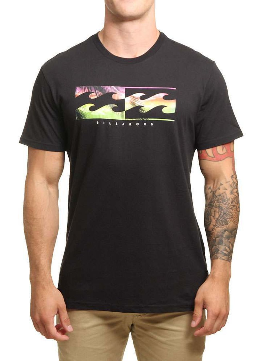 billabong-inverse-tee-black